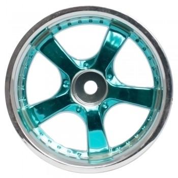 Комплект дисков (4шт.), 5 спиц, синие - SWS-3320066_bu