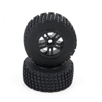 Колеса в сборе для L979 1:12 (черные диски) - L979-01