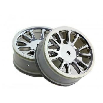 Колесные диски 1:16 (хром) - HSP-85005P