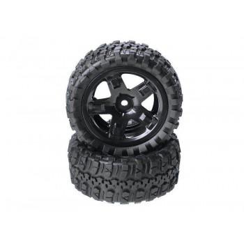 Колеса в сборе для моделей багги и шорт-корс траков Remo Hobby 1:16 2шт - P6971