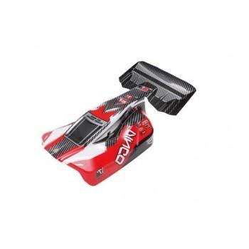 Окрашенный кузов (красный) для моделей багги Remo Hobby Dingo 1:16 - D5602