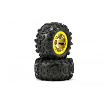 Диск колеса и покрышка колеса в сборе 2 шт - TRA7276