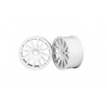 Колёсные диски белые (2 шт.) - TRA7571