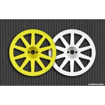 Диски колесные Wabash 1|18T * Mini-T | белые (2шт) - PL2688-04