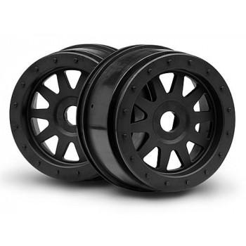 Диски SC 1|5 - TR-10 GLUE-LOCK черные(120x60мм) 2шт - HPI-106896