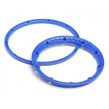 Кольца крепления шин на диски Baja5 HD (СИНИЕ) 2комлекта - HPI-3276