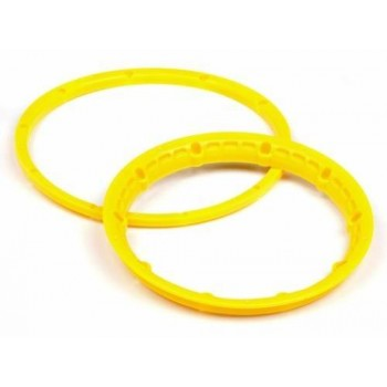Кольца крепления шин на диски 1|5 (YELLOW| 2компл) усиленные - HPI-3277