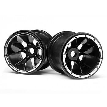 Диски колес трак 1|5 - Black (Blackout MT) 2шт - MV24105
