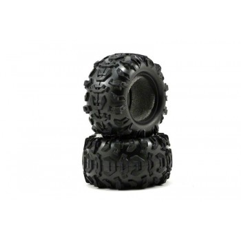 Покрышка колеса, для автомодели Traxxas Summit 1|16. 2 шт - TRA7270