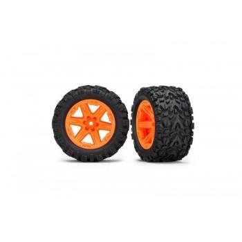 Колеса в сборе RXT orange wheels + Talon Extreme 2.8* - TRA6773A