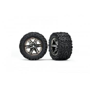 Колеса в сборе RXT black chrome wheels + Talon Extreme 2.8* - TRA6773X