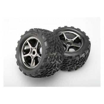 Покрышка колеса и диск колеса в сборе, 2шт. - TRA5374X