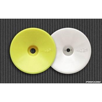 Диски колесные трак 1|10 - передние | белые | для T2, T3, T4, GT (2шт) - PL2635-00