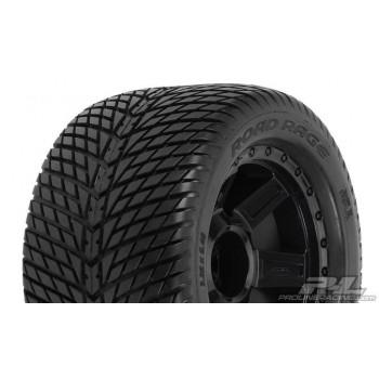 Колеса в сборе трак 1|8 - Road Rage 3.8* (1|2 Offset| hex17mm) (2шт) - PL1177-11