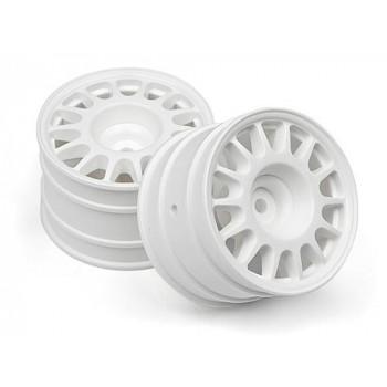 Диски ралли 1|8 - WR8 48x33мм (белые) 2шт - HPI-107881