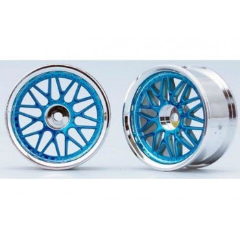 Диски 1|10 - 10-Spoke Chrome, Blue - YOK-TW-1313BL