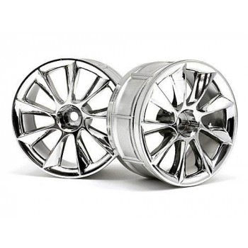 Диски 1|10 - LP29 ATG RS8 CHROME (2шт) - HPI-33462