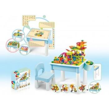 Стол для конструктора Pilage и комплект деталей