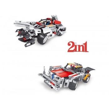 Р/У конструктор Qihui Mechanical Master 2 в 1 Спорткары (326 деталей)