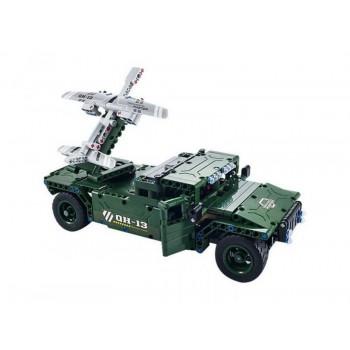 Р/У конструктор Qihui Mechanical Master Носитель БПЛА (506 деталей)