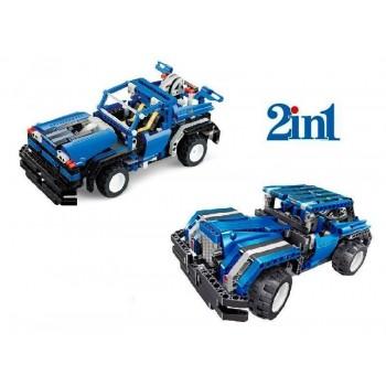 Р/У конструктор Qihui Mechanical Master 2 в 1 Спорткар и Седан (443 детали)