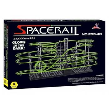 Конструктор динамический Spacerail 233-4G, 22м (Level 4), светящиеся рельсы