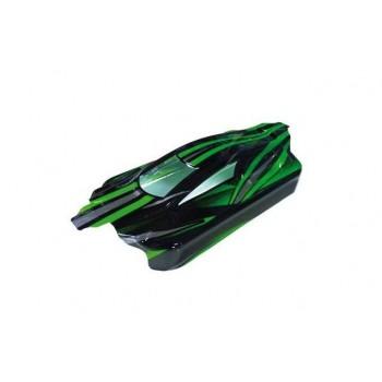 Кузов багги (зеленый), E10XB, E10XBL - Hi31311