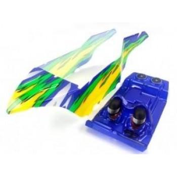 Окрашенный кузов (желто-зеленый) для моделей багги Himoto E10DB|DBL 1:10 - Hi31700-SET