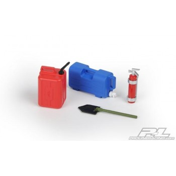Аксессуары масштабные - # 7 (Water Jug, Plastic Fuel Can, Fire Extinguisher, Trench Shovel) - PL6075-00