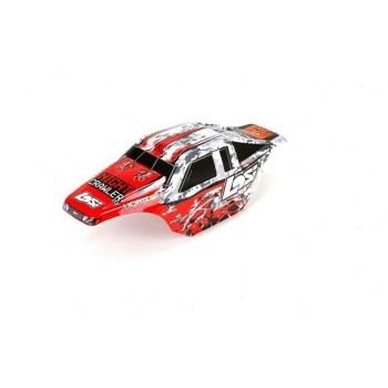 Losi Кузов (красный): NCR2.0 - LOS230007
