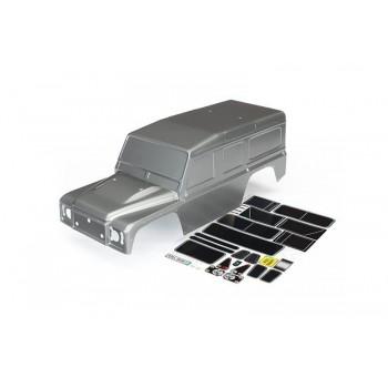 Кузов автомодели Traxxas TRX-4 окрашенный в серый цвет - TRA8011X