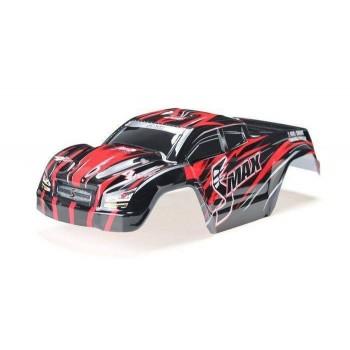 Окрашенный кузов (красный) для моделей монстров Remo Hobby SMAX 1:16 - D3602