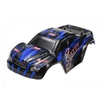 Окрашенный кузов (синий) для моделей монстров Remo Hobby SMAX 1:16 - D3603