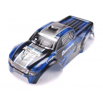 Кузов окрашенный (синий) для моделей монстров 1:8 - D3903