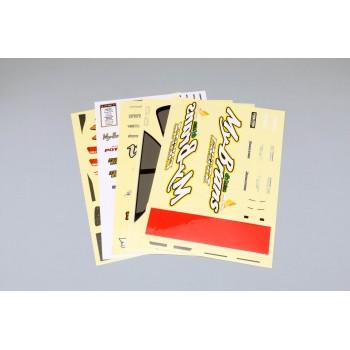 Декали Saito Daigo JZX100 MK2