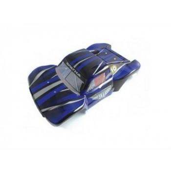 Кузов шорт-корса синего цвета для моделей Himoto E10SC, E10SCL - Hi31400