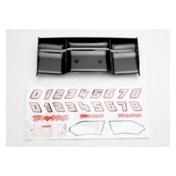 Антикрыло автомодели, пластик, цвет черный, с комплектом наклеек - TRA5446