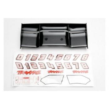 Антикрыло автомодели, пластик, цвет черный с текстурой «карбон» - TRA5446G