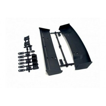 Набор антикрыльев 1 10 (2 типа   BLACK) пластик - HPI-85197