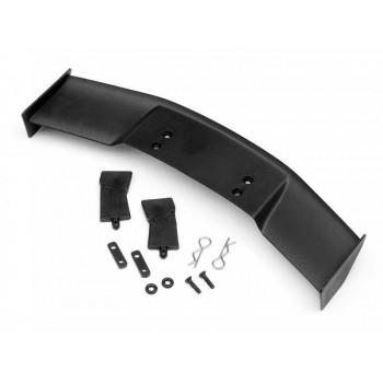 Антикрыло 1 10 пластик - (TYPE D   BLACK) + крепеж - HPI-85288