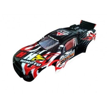 Кузов трагги (черный) Himoto - Hi31507