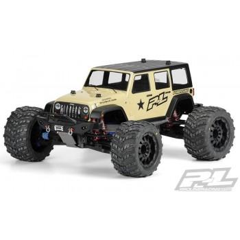 Кузов трак Jeep Wrangler Unlimited Rubicon T|E-MAXX 3.3, REVO 3.3, Savage, Summit 1:8 - PL3405-00