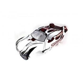 Бело-черный кузов для трагги Himoto E8XTL 1:8 - Hi08533