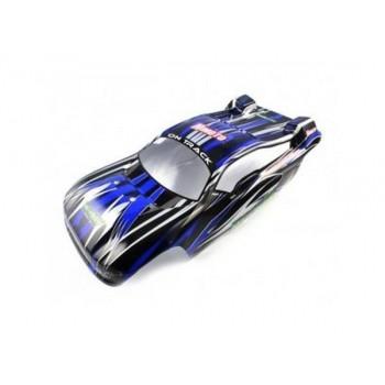 Окрашенный кузов сине-черный для трагги Himoto 1:8 - Hi08534