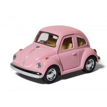 Машина Kinsmart Volkswagen Classical Beetle инерция (1/12шт.) 10см б/к