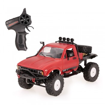 Внедорожник красный 1/16 4WD электро - Offroad Desert Car RTR (2.4 гГц)