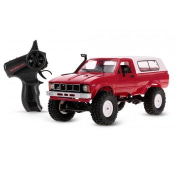 Внедорожник красный 1/16 4WD электро - Military Truck Buggy Crawler