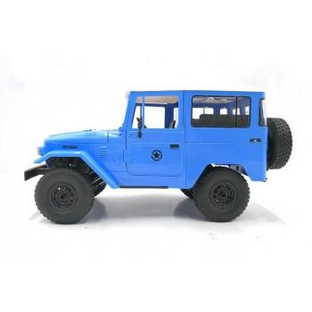 Внедорожник синий 1/16 4WD электро - Военный джип KIT