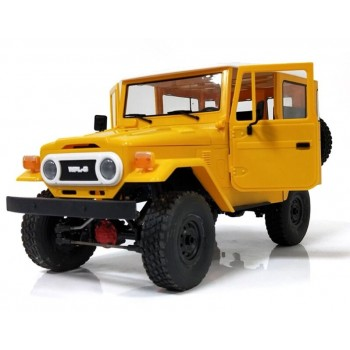 Внедорожник желтый 1/16 4WD электро - Военный джип KIT