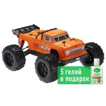 Монстр 1:8 ARRMA Outcast 6S 4WD Brushless RTR (оранжевый)